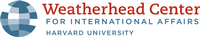 Weatherhead Center for International Affairs, Harvard University Logo
